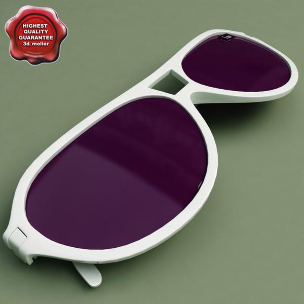 sunglasses v3 glass 3d model