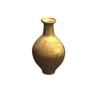 3d model antique pot