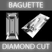 lightwave baguette diamond cut