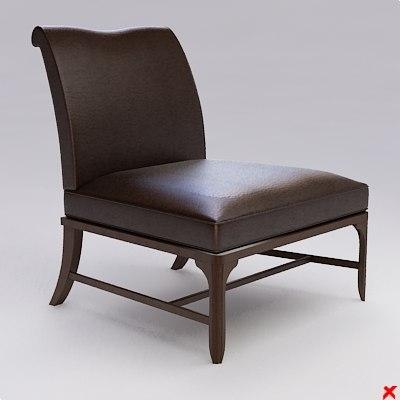 armchair chair dxf