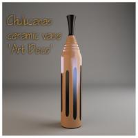 3d chulucanas ceramic vase art deco