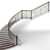Classic Spiral Curved Stair