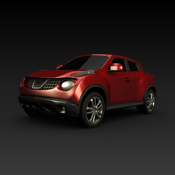 vehicle crossover 3d model