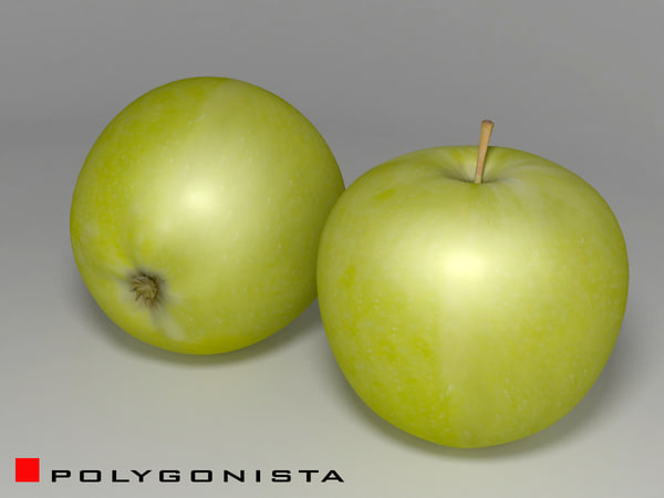 apple decoration 3d model