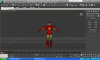 3ds max ironman movie