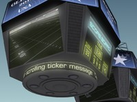 3ds max jumbotron score displays