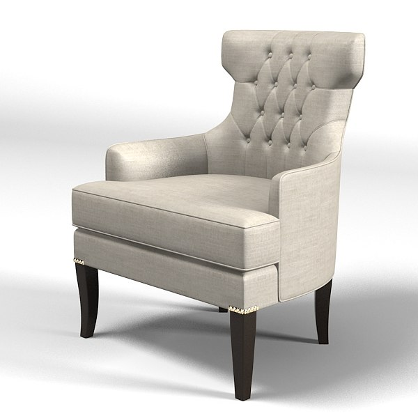 modern art deco furniture. 3d model modern classic art deco furniture