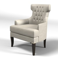 modern classic art deco chair armchair tufted tuft buttoned