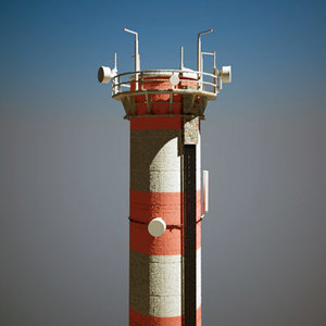 3d x factory chimney