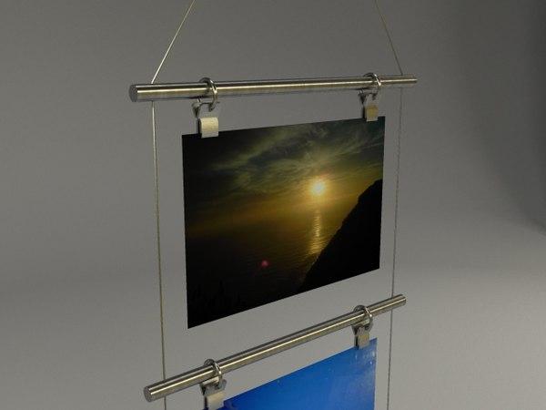 photo holder 3d model