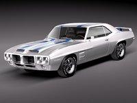 3ds pontiac firebird trans 1969