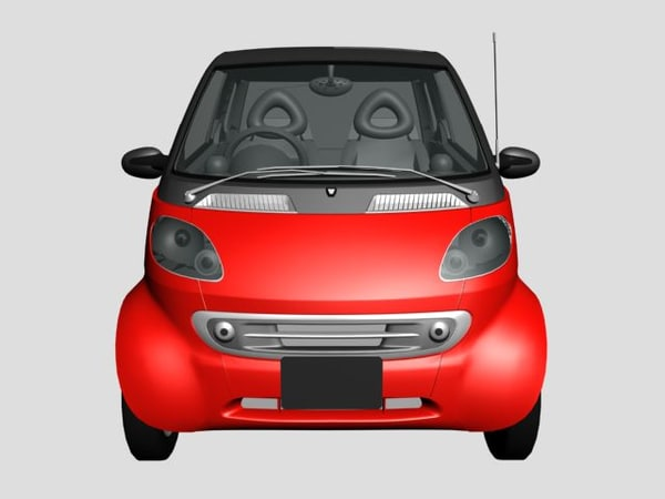 3d smart car