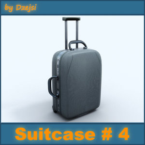 3ds max case suitcase