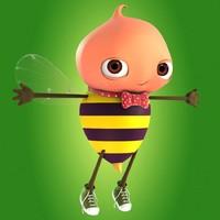 bee bug 3d model