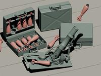 WWII German 5cm Leichta Mortar