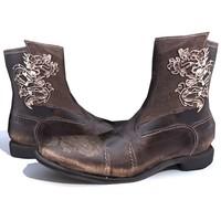 3d model vintage boots mark nason
