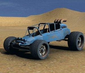 3dsmax postapocalyptic buggy