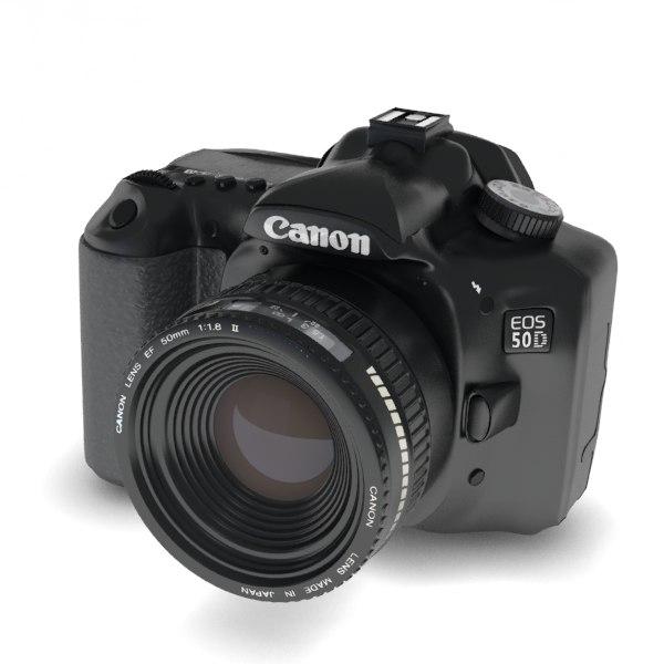 canon eos 50d camera 3ds free