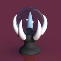 3d model mystic orb