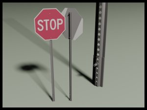 free 3ds mode stopsign sign