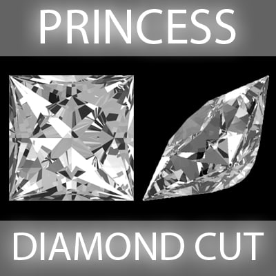 c4d princess diamond cut