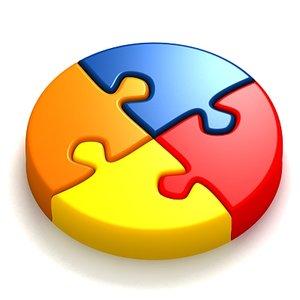 3d 3ds jigsaw puzzle set