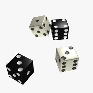 3ds max black dice clue monopoly