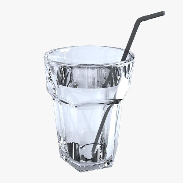 smoothie beer glass 3d model