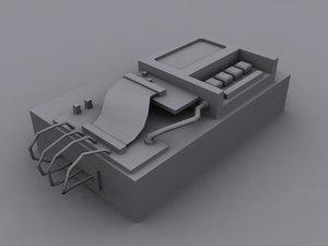 3ds terrorist bomb - modeled