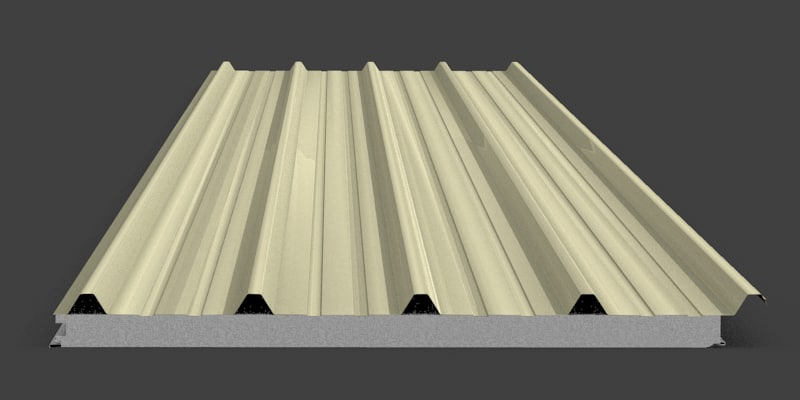 insulated roof trimdeck 2d 3d model