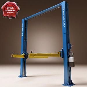 post lift 3d model