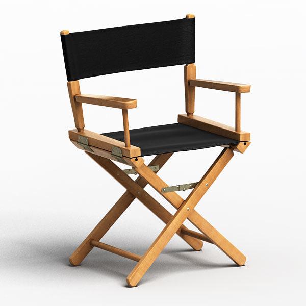 3ds directors chair