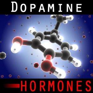 dopamine medication 3d model