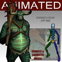 3dsmax daemon glest animation