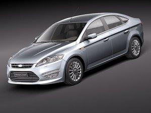 mondeo 2011 3d model