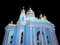 cathedral fedor ushakov 3d model