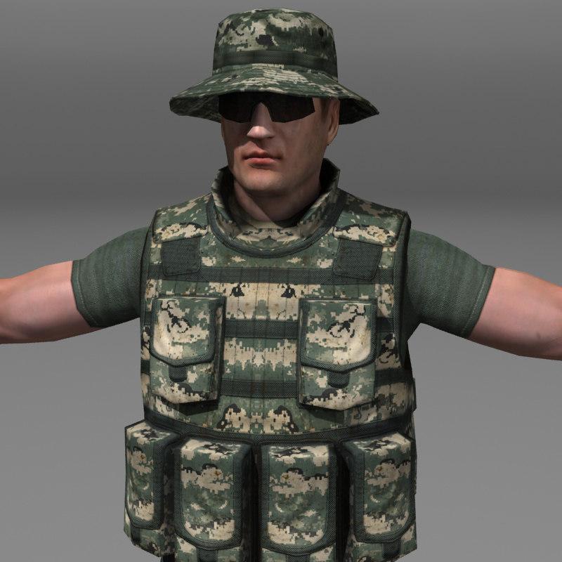 soldier m4 modern max