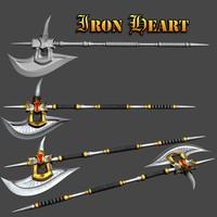max iron heart