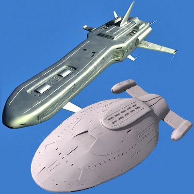 max 2 spaceships