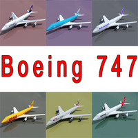 3d boeing 747 6 model