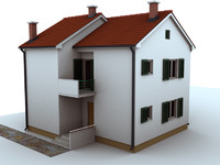 house 105 3d 3ds