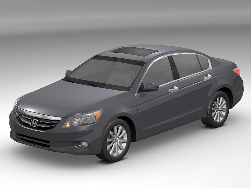 3d honda accord model
