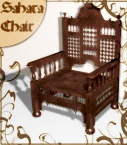 moroccan chair max