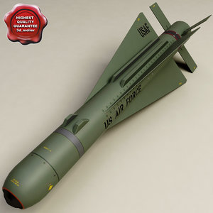 3ds aircraft missile agm-65b maverick