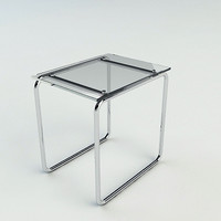 End Table - Vray & Mental Ray Materials