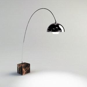 max arco floor lamp -