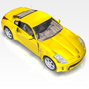 car nissan 350z sports 3ds