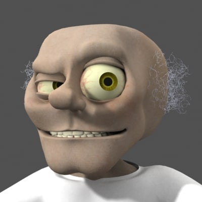 3d model mad scientist