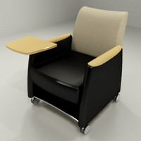 aynsley lounge chair tablet 3d dwg