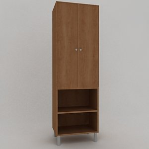 3ds max commode modeled wood